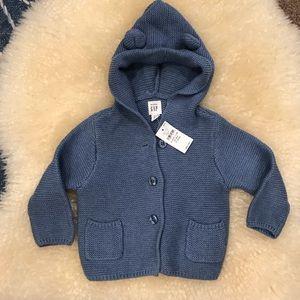 NWT Baby Gap Bear Hoodie 🐻